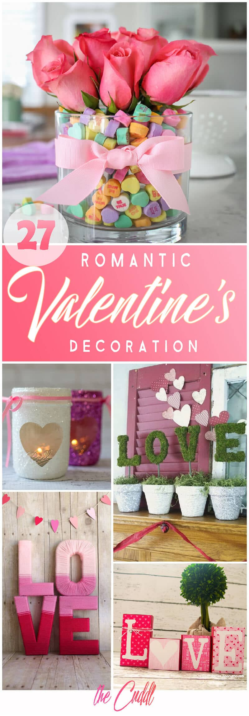 27 Playful Valentine's Day Decoration Ideas That Will Fill Your Home With Love