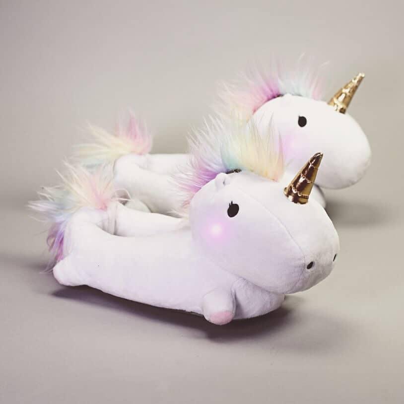 Enchanted Light Up Unicorn Slippers