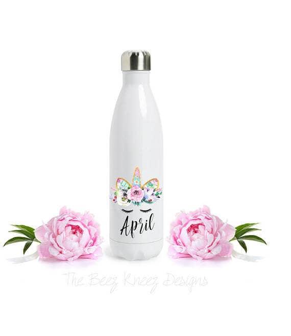 Personalized Unicorn S'well Bottle
