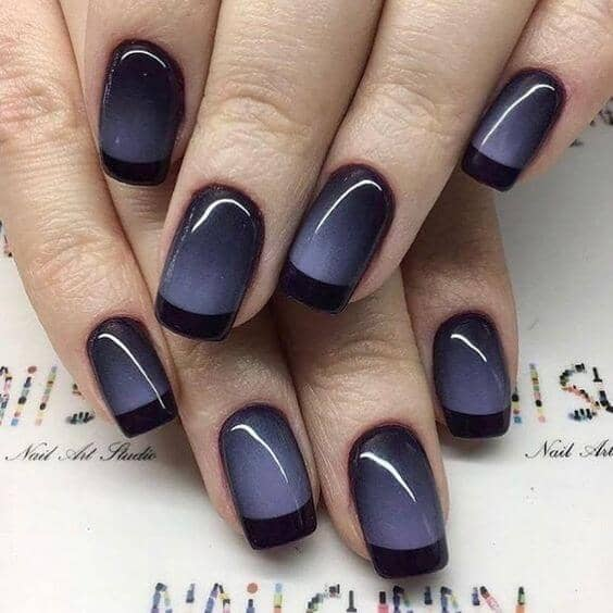 A Twist on Ombre and French