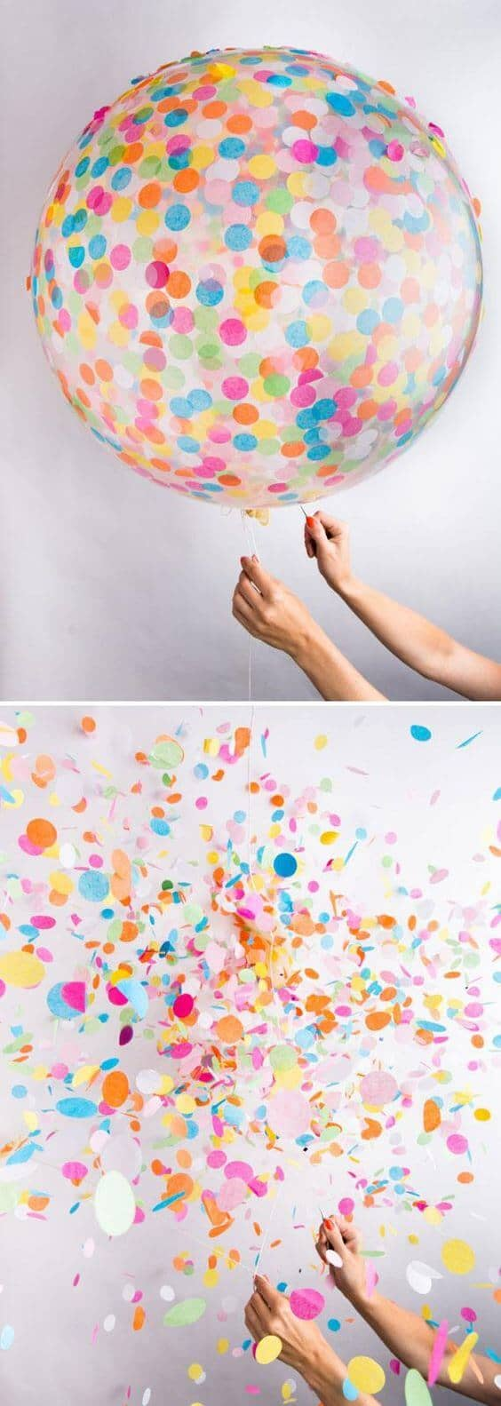 Colorful and Fun Confetti Balloons