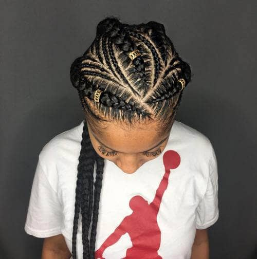 Add Beads to Decorate the Braids