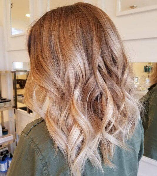 Cool-Toned Brown with Blonde and Strawberry