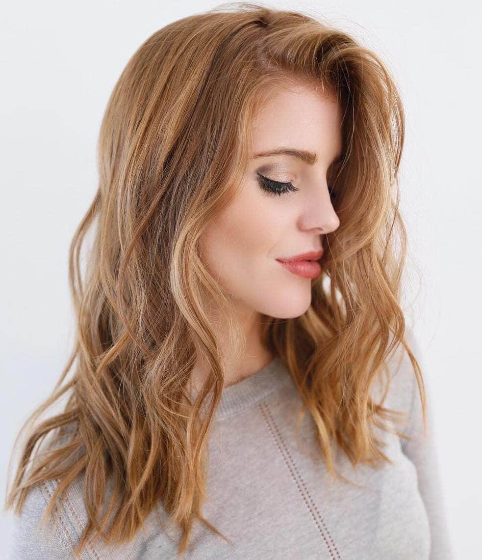 Цвета волос в моде фото