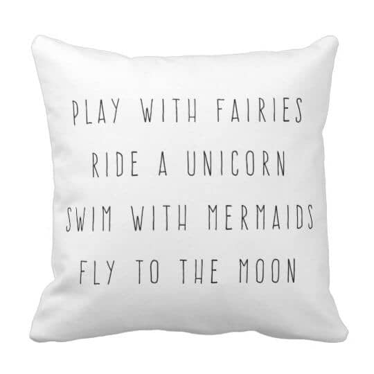 Play With Fairies Pillow
