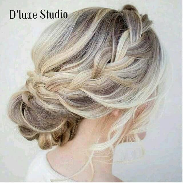 Elegant and Sophisticated Braided Updo
