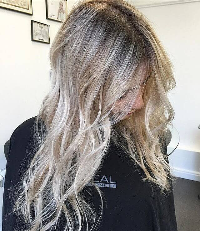Subtle Ombre with Dark Ash Blonde