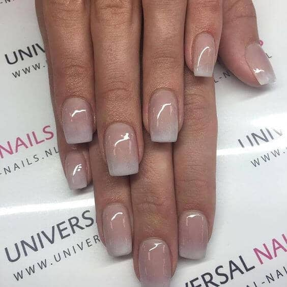 Perfectly Prim Ombre Nude Nails