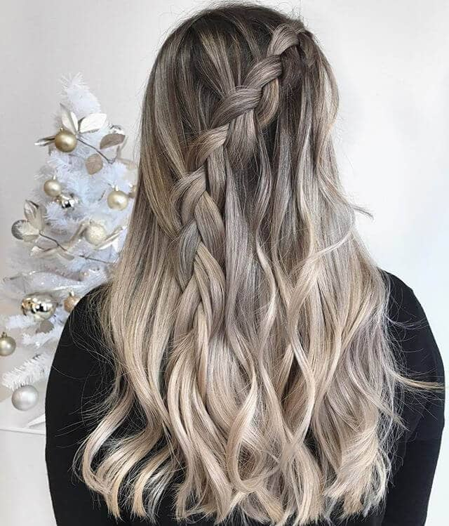 Natural White Blonde Hair