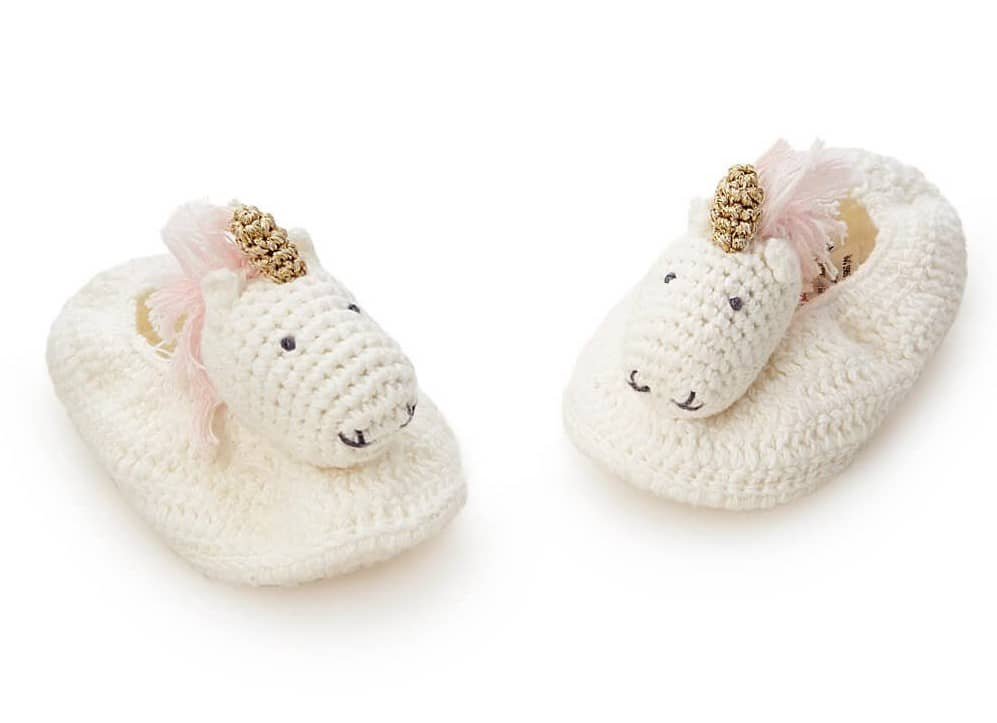 Unicorn Booties