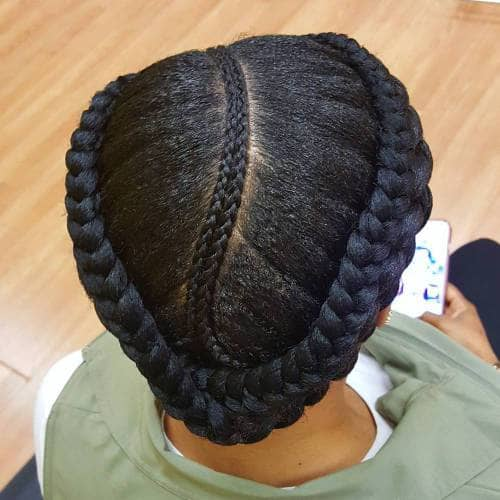 Emphasize Your Natural Part with a Braid