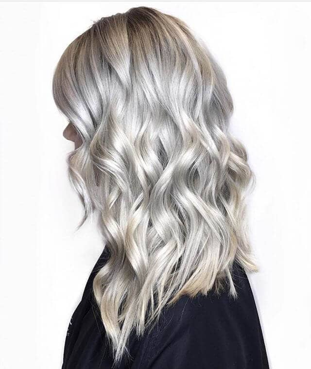 Silver Tones and Curly Waves