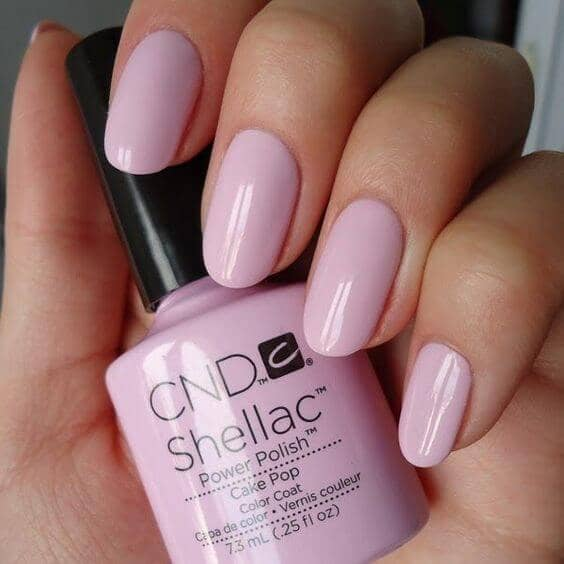 Simple Pink Nails for You