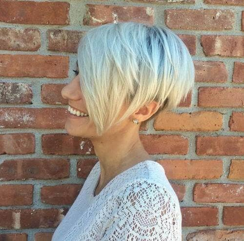 The Feminine Blonde Pixie for Fine Hair