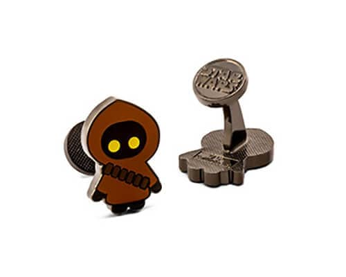 Star Wars Jawa Glow-in-the-Dark Cuff Links