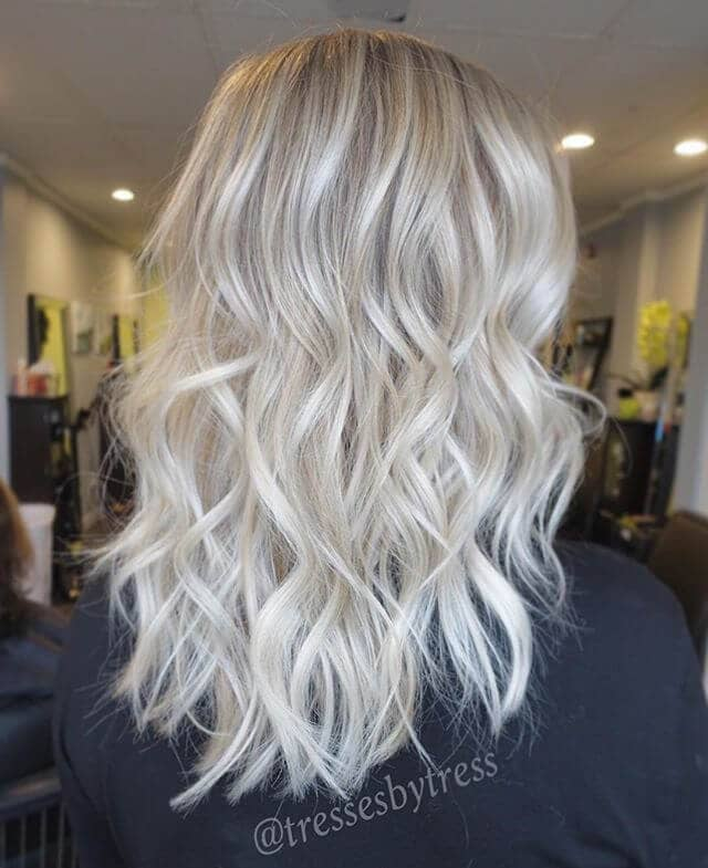 Classic Platinum with Fun Waves
