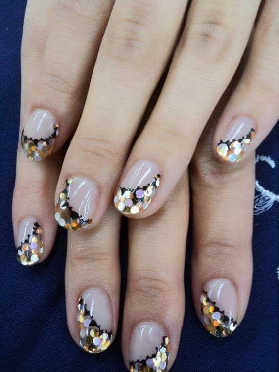 Elegant Transparent Nail Art Designs
