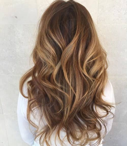 Wavy, Lovely Long Layers Haircut