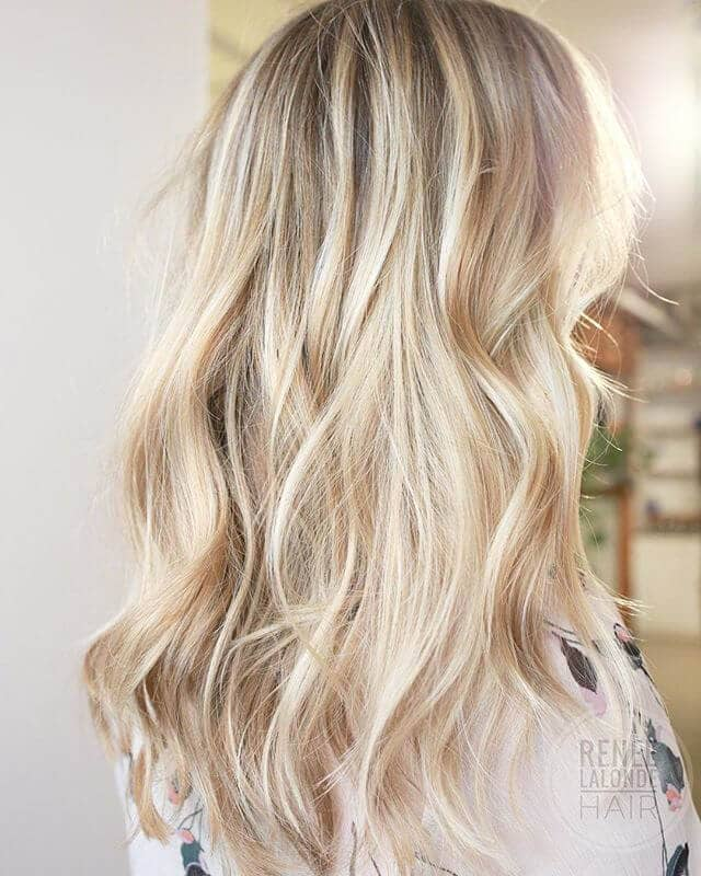 50 bombshell blonde balayage hairstyles that are cute and easy for 2018. Black Bedroom Furniture Sets. Home Design Ideas