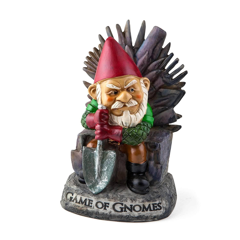 """Bigmouth, Inc. """"Game of Gnomes"""" Garden Gnome Statue"""