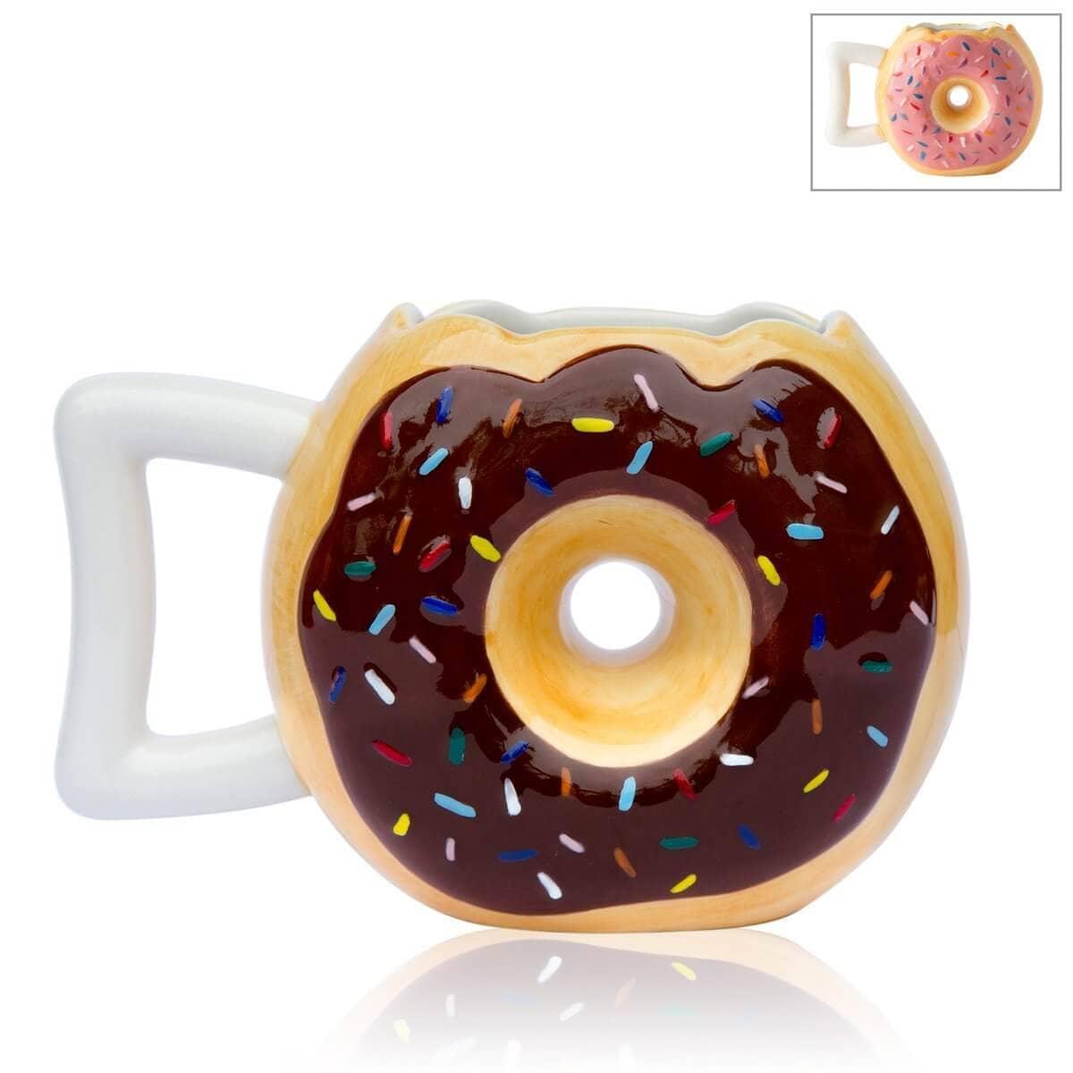 Ceramic Donut Mug