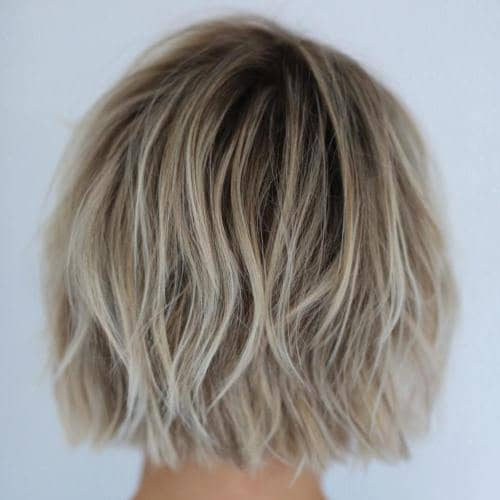 Dirty Blonde Chin Length Bob