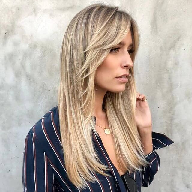 50 timeless ways to wear layered hair and beat hair boredom long hair face framing layers and bangs solutioingenieria Choice Image