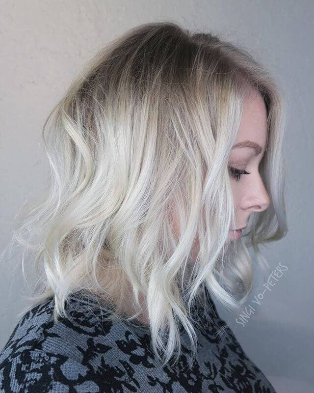 Subtle Ombre with Silver Undertones