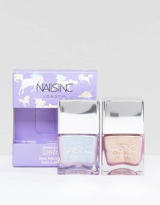 Nails Inc. Sparkle Like a Unicorn Nail Duo