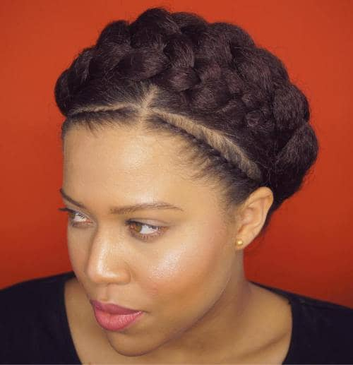 50 Natural And Beautiful Goddess Braids To Bless Ethnic Hair