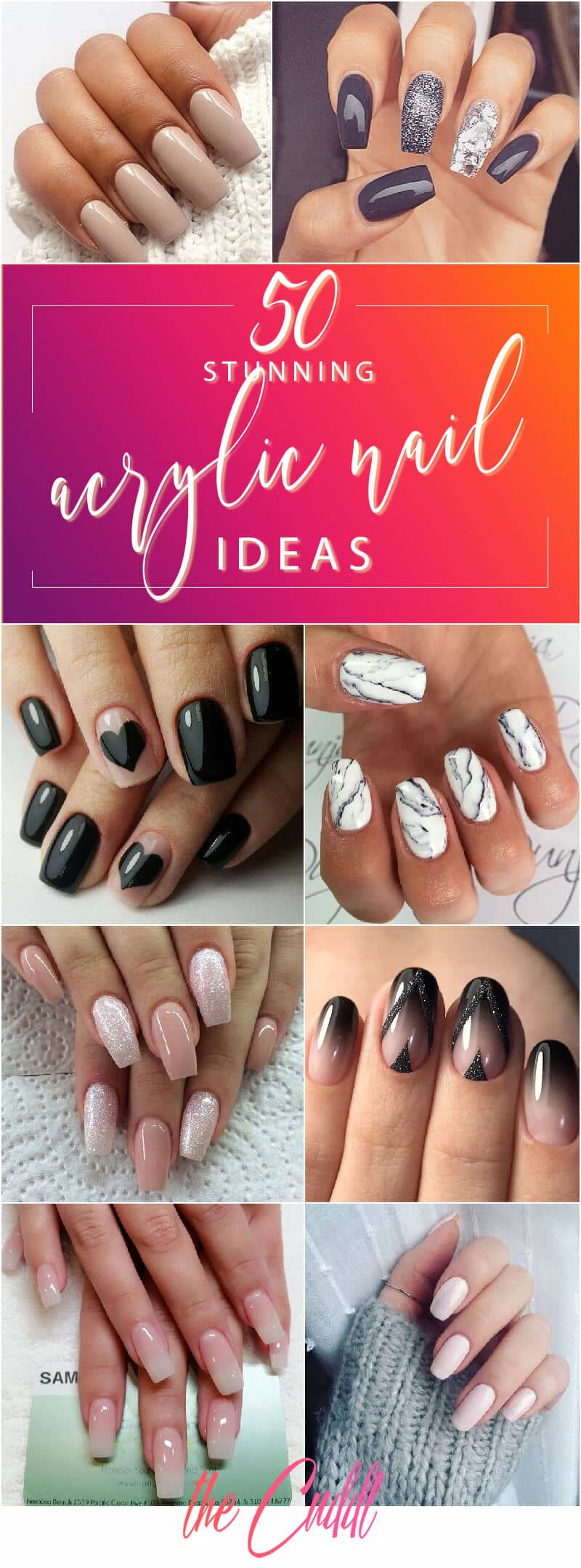 Stunning Acrylic Nail Ideas to Express Your Personality