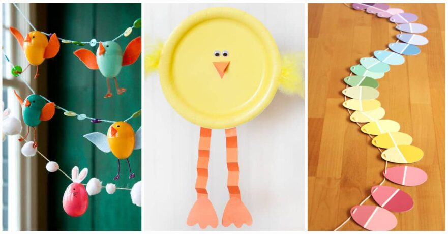 Diy Craft Ideas For Kids Part - 43: 27 Easy DIY Craft Ideas For Kids To Get You And Your Family Into The Easter  Mood
