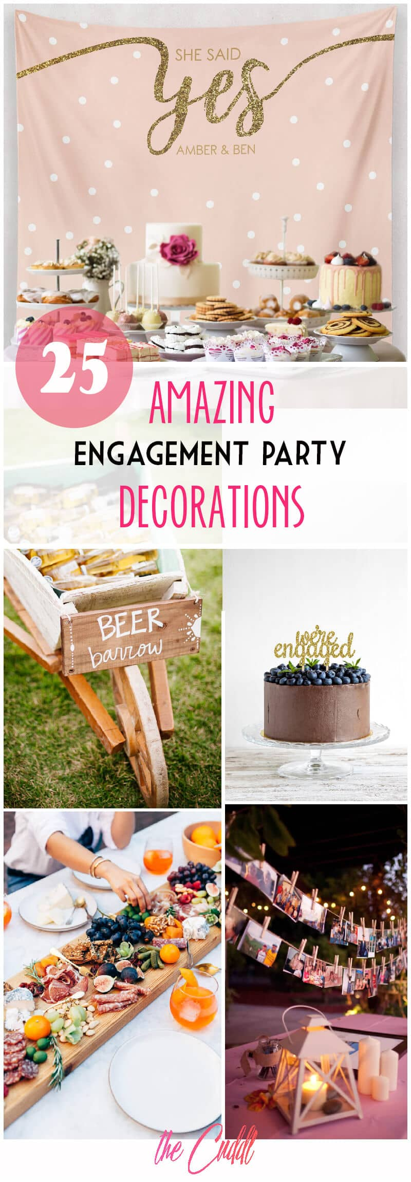 25 Amazing Diy Engagement Party Decoration Ideas For 2020