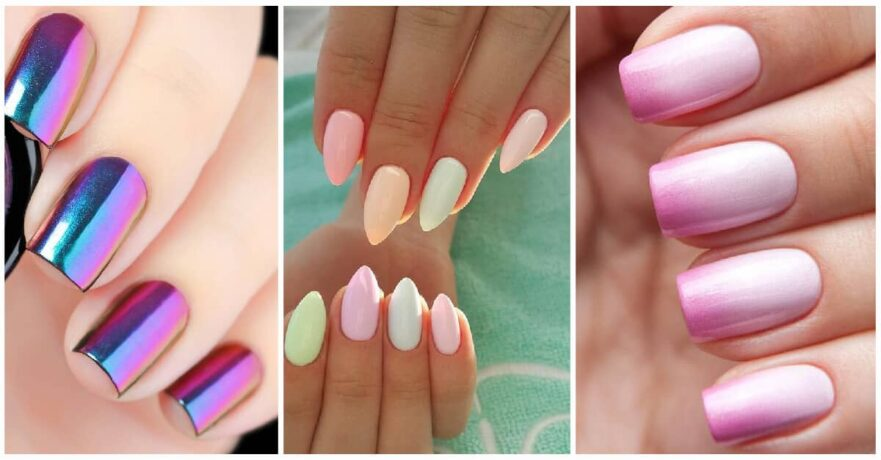 50 Heavenly Gel Nail Design Ideas to Fancy Up Your Fingers - 50 Dazzling Ways To Create Gel Nail Design Ideas To Delight In 2019