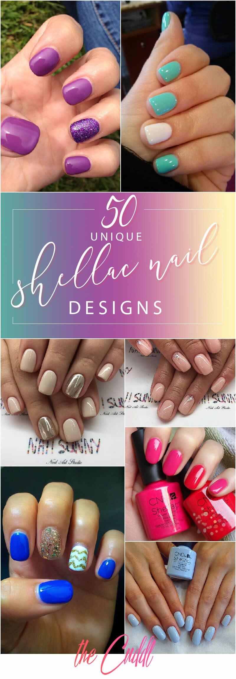 50 Reasons Shellac Nail Design Is The Manicure You Need Right Now