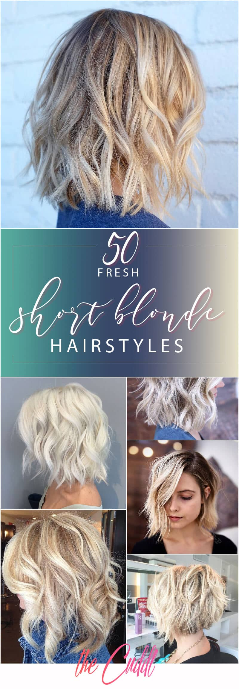 50 Fresh Short Blonde Hair Ideas to Update Your Style for Spring