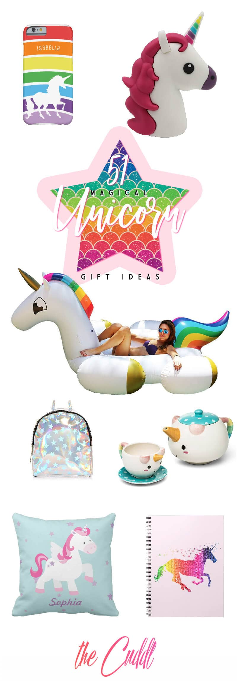 51 Enchanted Unicorn Giftsto Add Colour and Magic to the Life of Your Loved Ones