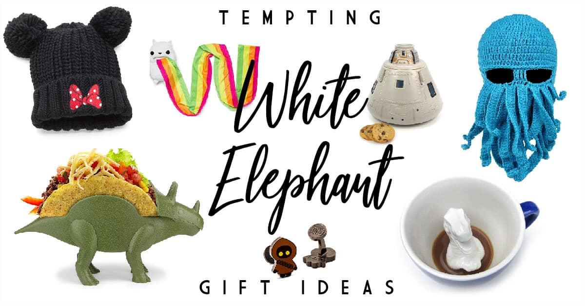 White Elephant Gift Ideas 2019 Under $50 50 Trade Provoking White Elephant Gift Ideas for Your 2019 Gift