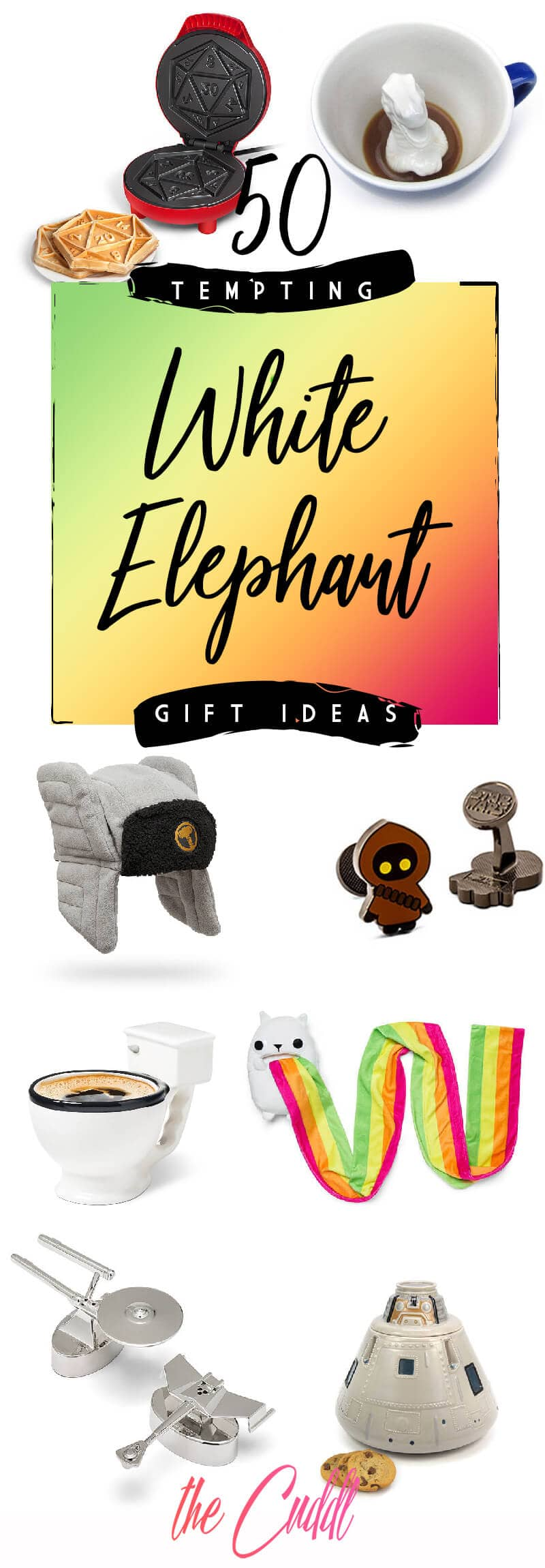 50 Trade Provoking White Elephant Gift Ideas For Your 2019 Gift Exchange