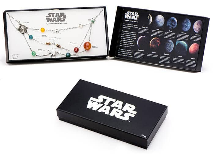 Star Wars Planetary Necklace for Her