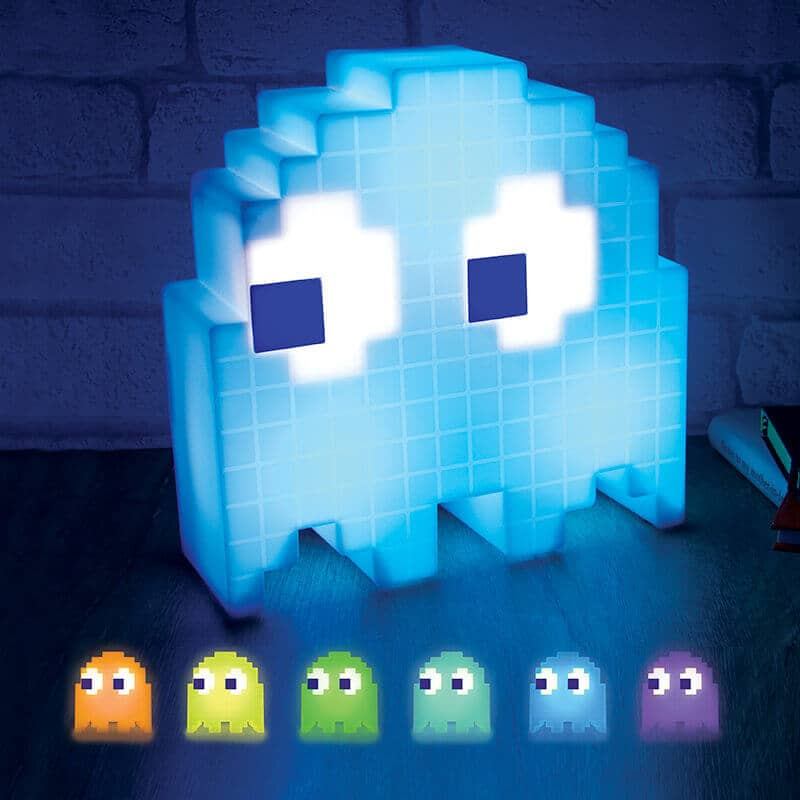 Funny Pac-Man Colour Changing Ghost Lamp
