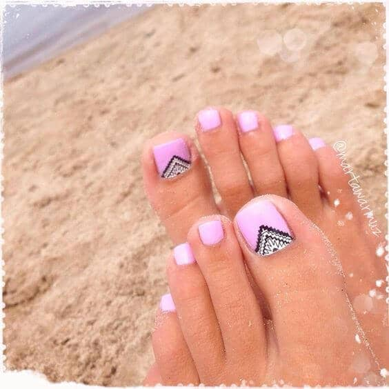 50 Cute Summer Toe Nail Art and Design Ideas for 2019