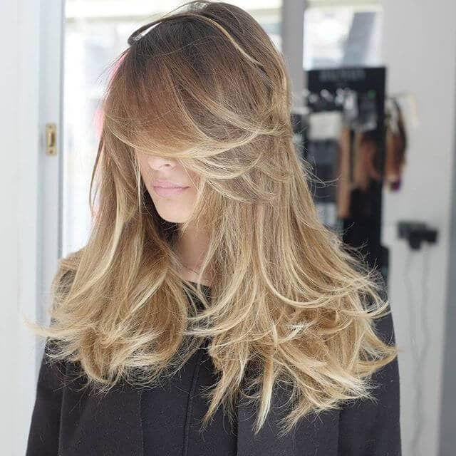 Long Hairstyles With Side Bangs And Layers 31