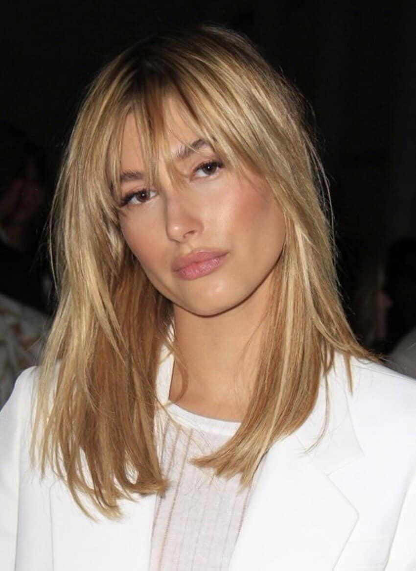 Long and Tapered Style Bangs
