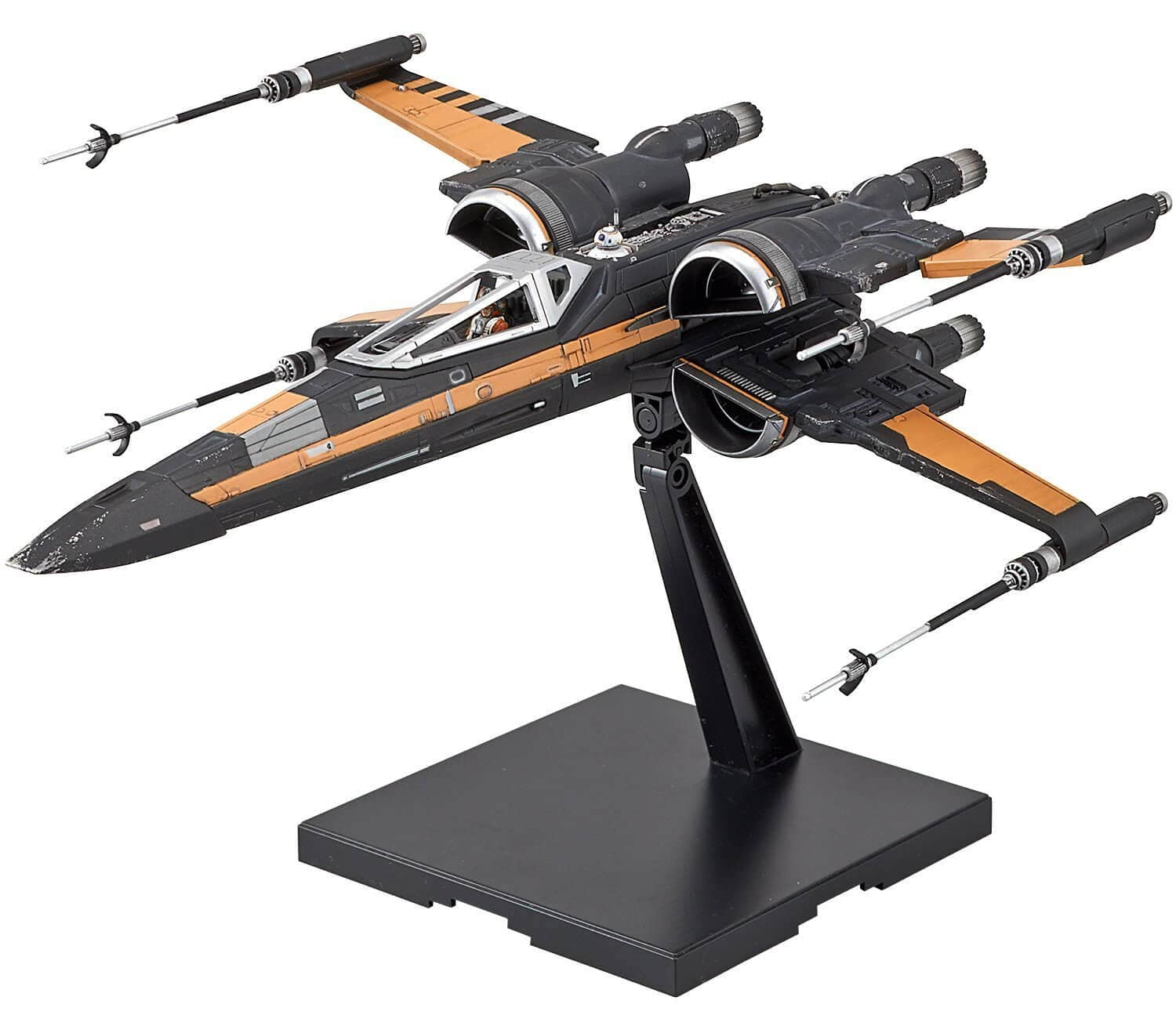 Bandai Poe's Boosted X-Wing Fighter Model Kit