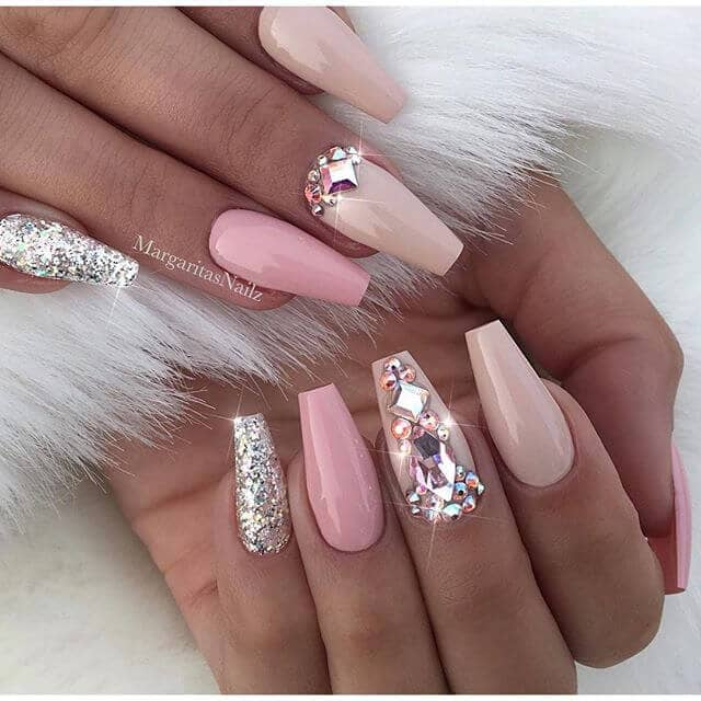 Nail Art: 50 Fabulous Ways To Wear Glitter Nails Like A Boss