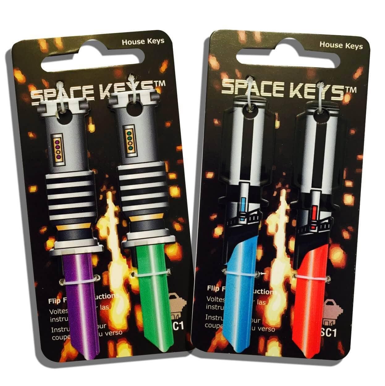 Awesome Saber Shaped Space Keys