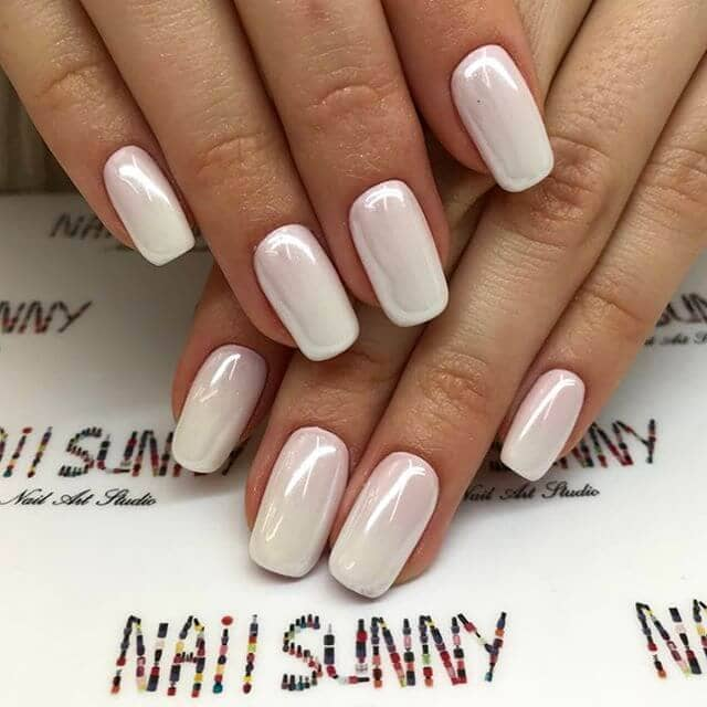 Classic White Polish for You