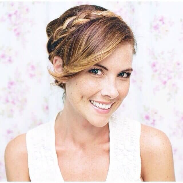 Awesome Braided Updo for a Special Occasion