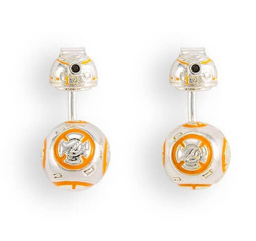 BB-8 Enamel Ear Jacket Earrings